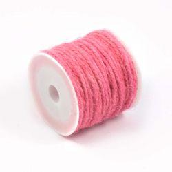 Ficelle de jute rose (10M)