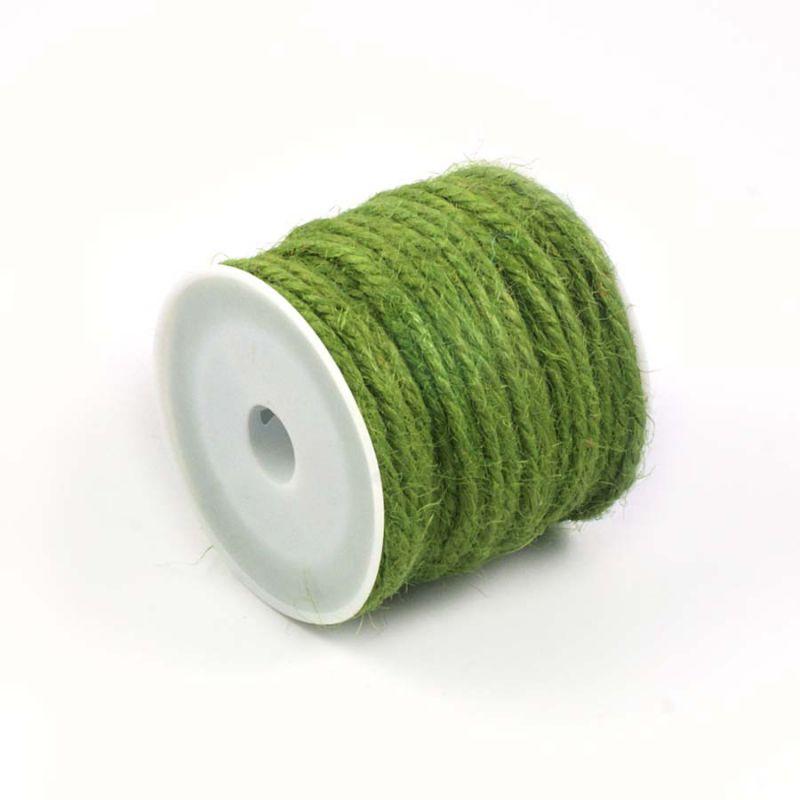 ficelle de jute vert mousse 10m ph m ria scrapbooking couture crochet jute. Black Bedroom Furniture Sets. Home Design Ideas