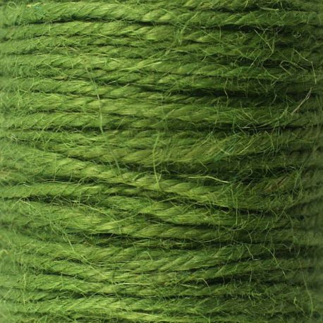 ficelle de jute vert mousse 50m ph m ria scrapbooking couture crochet jute. Black Bedroom Furniture Sets. Home Design Ideas