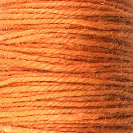 Ficelle de jute orange (50M)
