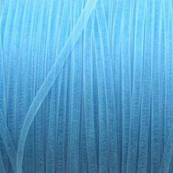 Ruban organza bleu clair 3 mm