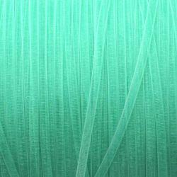 Ruban organza aqua 3 mm