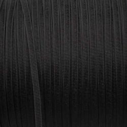 Ruban organza noir 3 mm