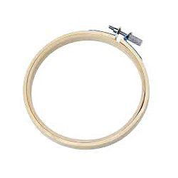 Cercle à broder bambou 23cm
