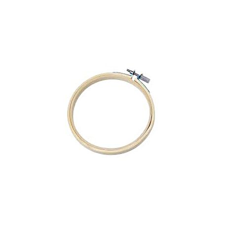 Cercle a broder bambou 27cm
