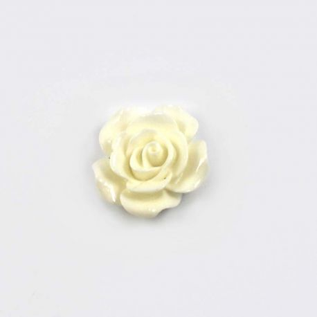 Rose en résine 25mm