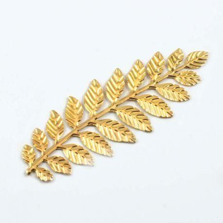 Longue branche or brillant