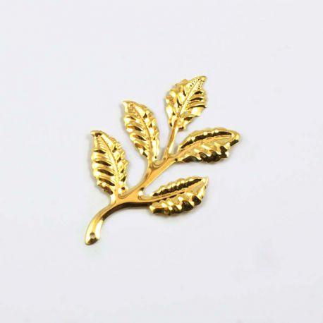 Mini branche or brillant