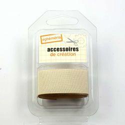 Toile adhesive creme