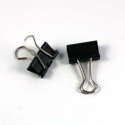 Pince à dessin double clip noir 15mm