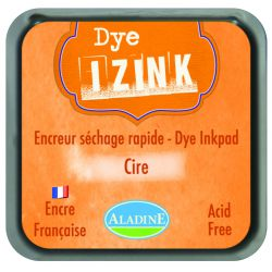 ENCREUR IZINK DYE ORANGE CIRE