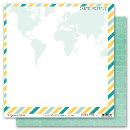 Carte Postale Papier de Pandore 2