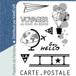 Tampon Pandore Carte postale