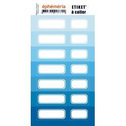 stickers nuances de bleu
