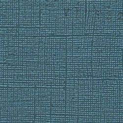 "Cardstock vintage bleu petrole 12X12"""