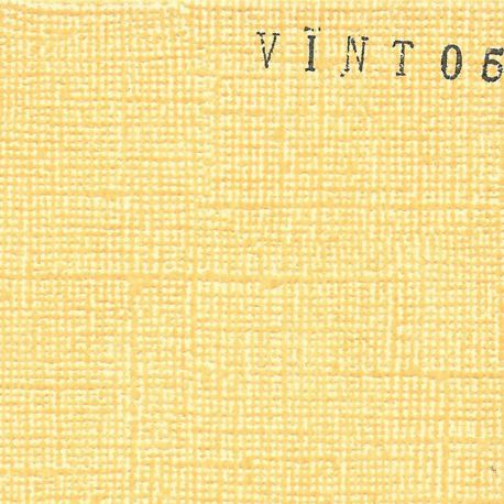 Cardstock vintage jaune orange 12X12""
