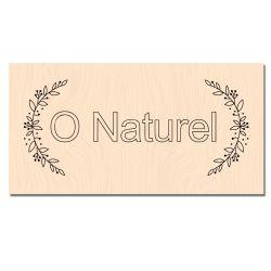Tampon bois O Naturel