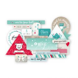 Mint Choco et Gourmandises-Die Cuts