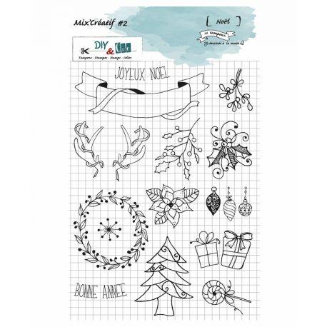 Stamp Mix Creatif 2 -Noel