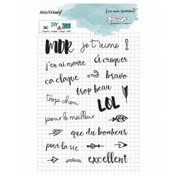 Stamp Mix Creatif - mot quotidien