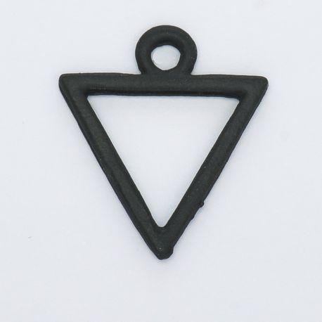 Breloque triangle noir