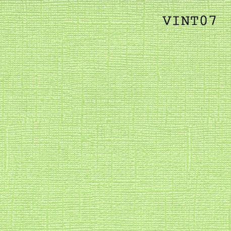 "Cardstock Vintage vert charteuse 12X12"""