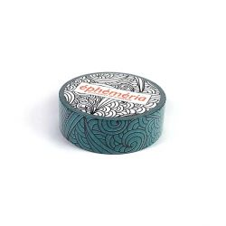 Masking Tape aigue-marine doodling