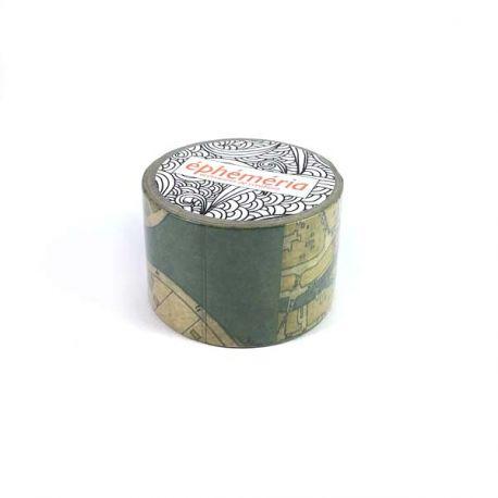 Masking Tape Carte ancienne