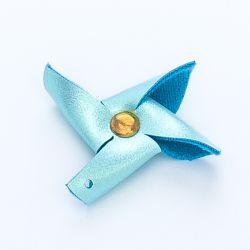 Moulin skaÏ turquoise irisé