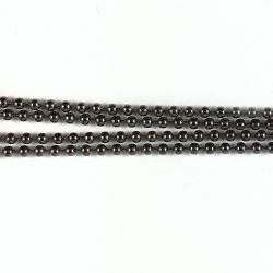 Ball chain D1,5mm bronze
