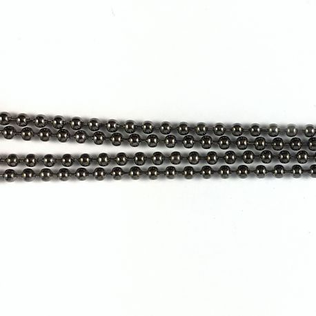 Ball chain D1,5mm bronze