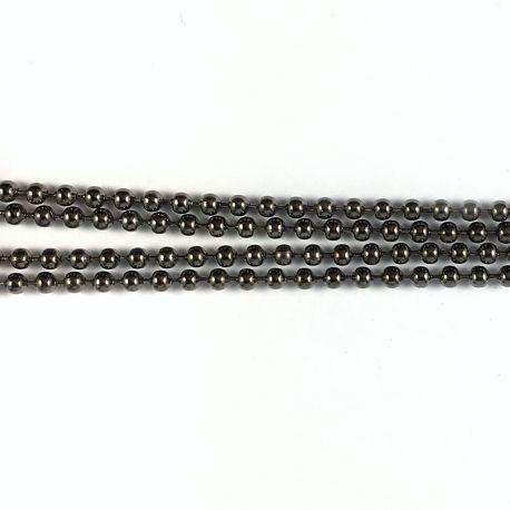 Chainette D1,5 mm Bronze