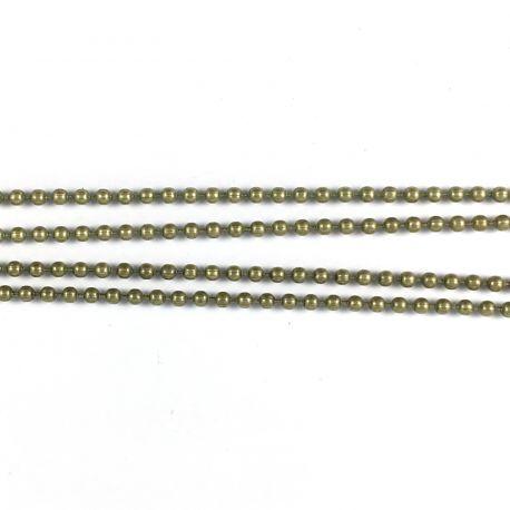 Ball chain D1,5mm grey
