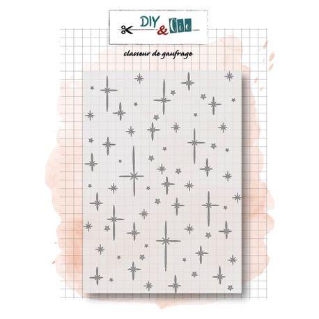 Embossing folder Starry Sky