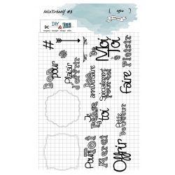 Clear Stamp Mix Créatif 3 - Offrir