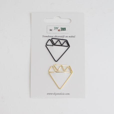 Trombone diamants