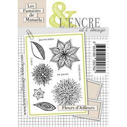 Clear stamp Fleurs d'ailleurs
