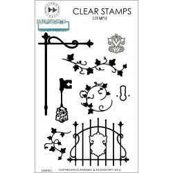 Secret garden-clear stamp Studio Forty