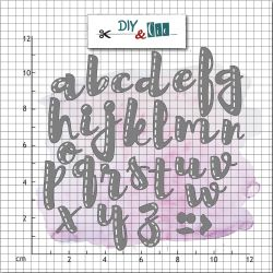 Die alphabet - DIY and Cie