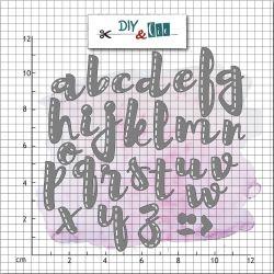 Die alphabet - DIY and Cie