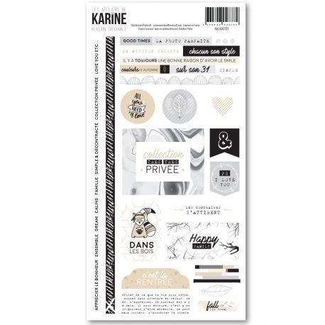 Stickers Version Originale-Karine Cazenave-Tapie