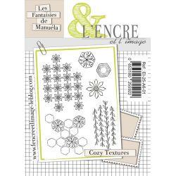 Tampon Clear Cozy Textures- L'Encre et l'Image