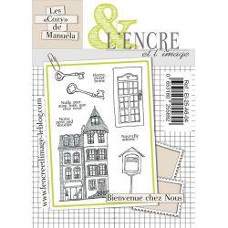 Clear Stamp Bienvenue chez nous- L'Encre et l'Image