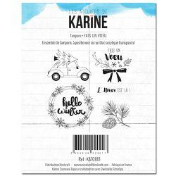 Clear Stamp Fais un Voeu- Les Ateliers de Karine