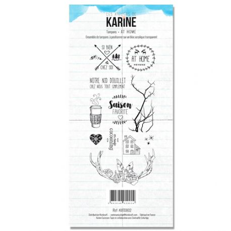 Clear Stamp At Home - Les Ateliers de Karine