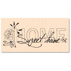 Wooden stamp Sweet Home- Les Ateliers de Karine
