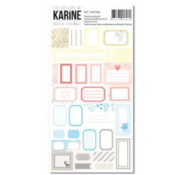 Douceur Hivernale - Stickers 10X15-Karine Cazenave-Tapie