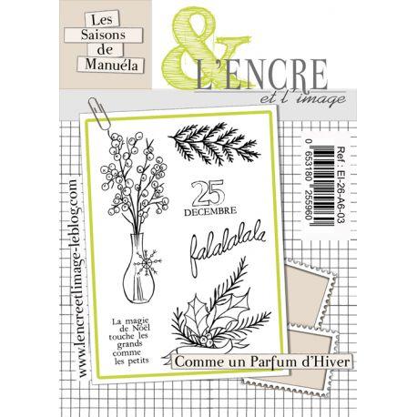 Tampons Clear Parfums d'Hiver - L'Encre et l'Image