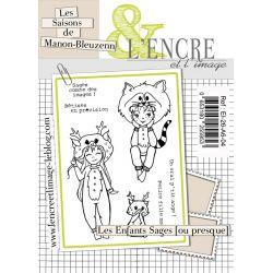 Clear Stamps Les Enfants sages  - L'Encre et l'Image