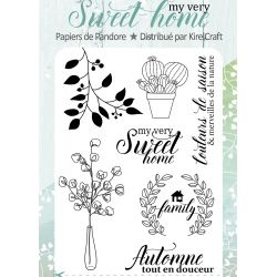 Stamp My Very Sweet Home- LPDP
